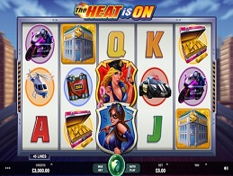 The Heat is On Slots