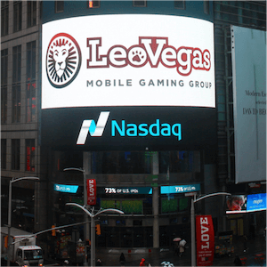LeoVegas Now Listed on Stock Market