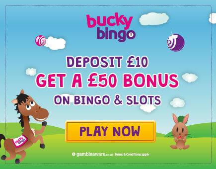 Bucky Bingo Mobile Offer