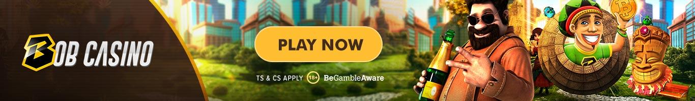 Bob Casino Bottom Banner