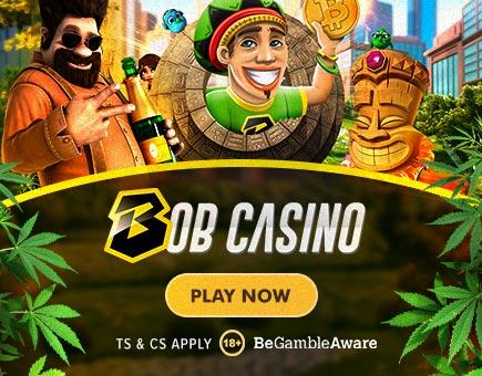 Bob Casino Mobile Middle Banner