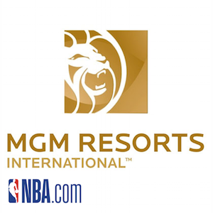 MGM Resorts Boosted By New NBA Partnership